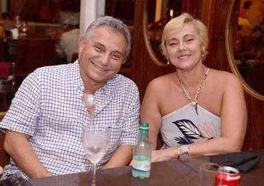 Carlos Henrique Briglia de Baros e Anna Paula Drehmer no Soho