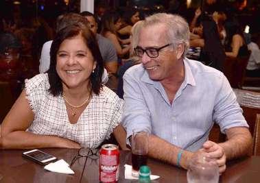 Laura Gordilho Correa Ribeiro e Alfredo Garcez no Soho
