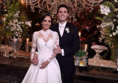 Mateus Araújo e Camila Brandão se casaram hoje 21 de abril na capela da Pupileira