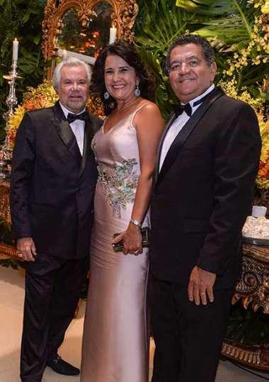 Milton Martinelli, Suzana e Cesar Ribeiro Lima em fotos de Valterio