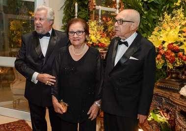 Milton Martinelli, Solange e Edivaldo Boaventura em fotos de Valteiro
