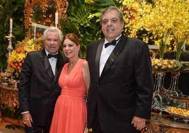 Milton Martinelli, Alina e Paulo Gordilho