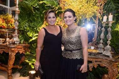 Naiana Rocha e sua irmã a primeira Dama da Bahia Aline Peixoto em fotos de Valterio Pacheco