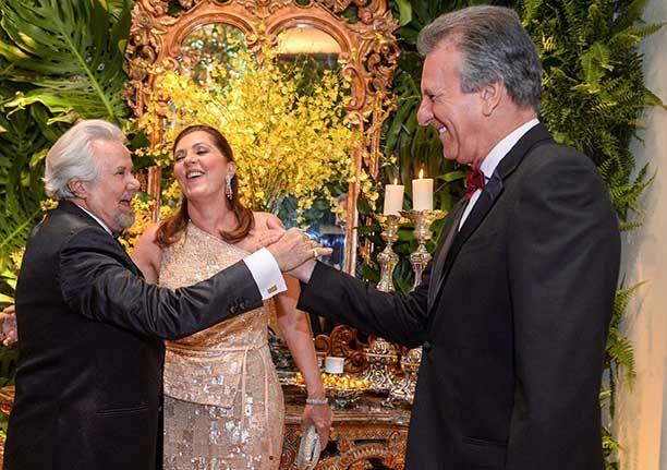 Milton Martinelli comemora seus 70 anos em alto estilo(black-tie) no Cerimonial Mansão Cunha Guedes