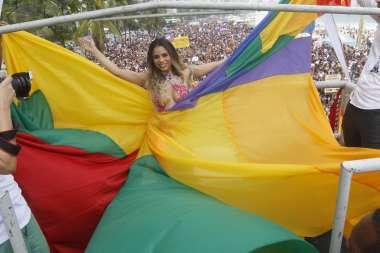 22 Parada LGBT em paceria com a empresa 4FouX e a associação LGBT em Copacabana no Rio ontem(19)