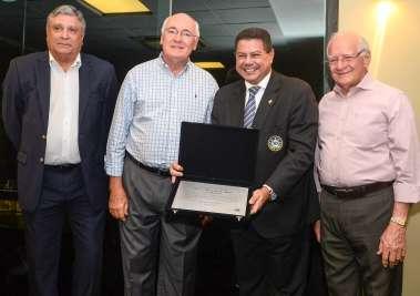Marcelo Sacramento comodoro do Yacht Clube da Bahia é homenageado juntamente com a sua diretoria very special and very important