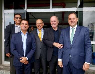 Eduardo Salles, Roberto Britto, João Leão e Nelson Leal