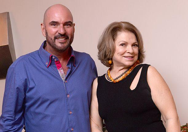 Nino Nogueira e Lena Lebram os anfitriões do jantar de ontem na Nino Nogueira Decor e Antiguidades,Veja os convidados