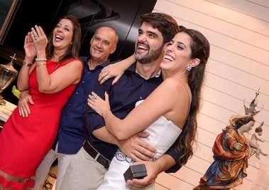 Moema Pitanga, Heitor Cunha, Felipe Pinto e Luma Pitanga em fotos de Vallterio Pacheco