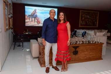 Heitor Cunha e Moema Pitanga