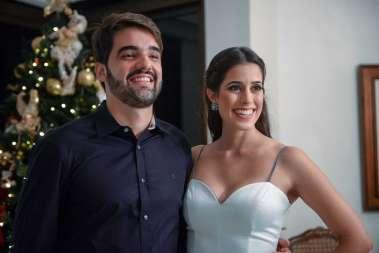 Filipe Pinto e Luma Pitanga em fotos de Valterio