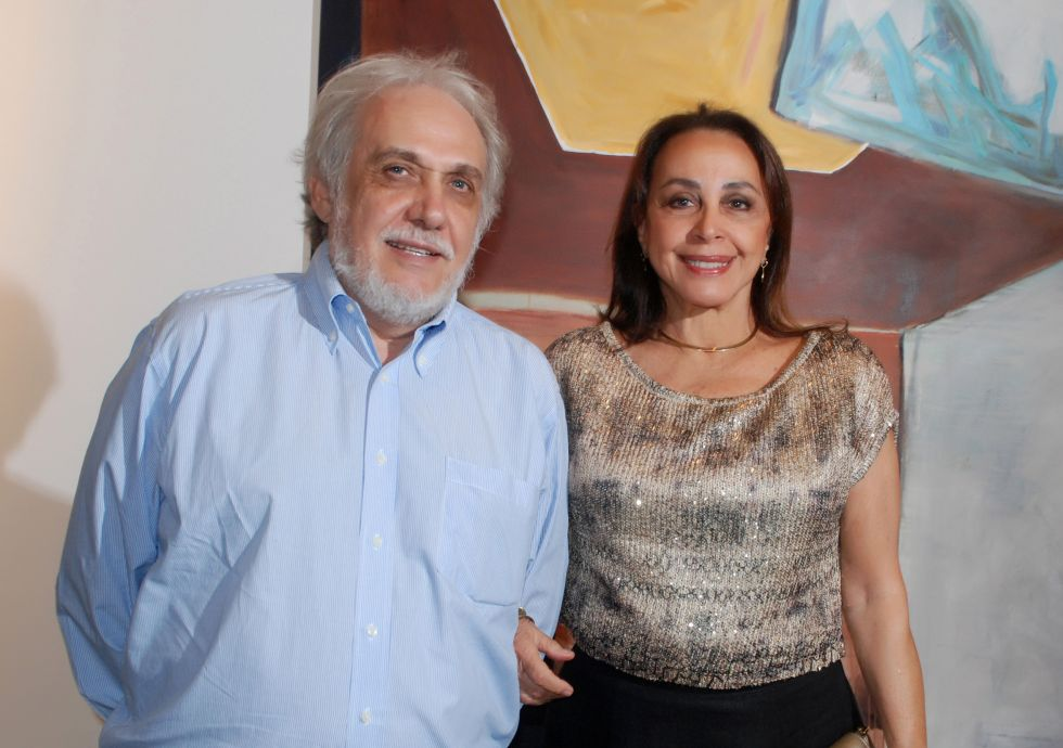 Frances e Giovanni Pisano cônsul da Itália o casal destaque do dia 10/10.