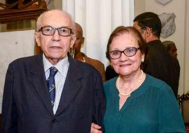 Solange e Edivaldo Boa Ventura o orador da noite no IGH Ba em fotos de Valteiro