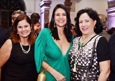 Vera Gordilho Brito, Fernanda Pereira e Tânia Muniz Barreto