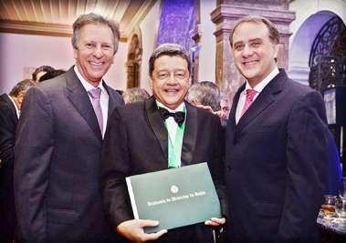Fred Luz, Jorge Pereira e José Carvalho