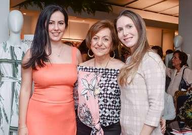 Luciana Barradas Souza, Regina Weckerle e Mariana Horne em fotos de Valteiro