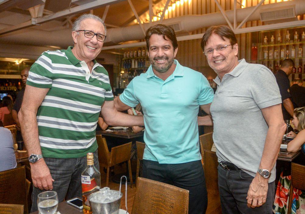 Veja as celebridades que jantaram dia 31/08/2019 nos restaurantes Amado, Soho, Chez Bernard e Bistrô Trapiche Adega