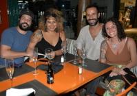 Thais Pires e Marcio Paraiso, Juliana Gusmão e Rodrigo Bento