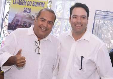 Dep Sandro Regis e Angelo Magalhães