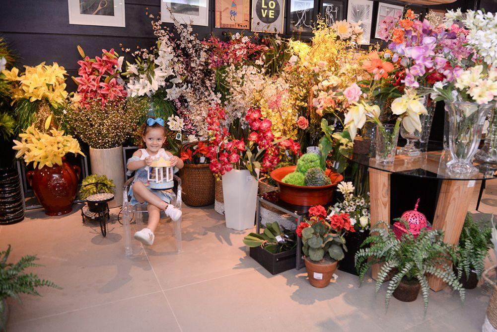 Conceição Valente recebeu em sua loja Essence In Home do Caminho da Árvores para mostrar sus novidade a sua neta.Click pra ver
