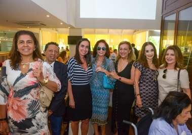 Laura Tanuri, Valterio Pacheco,Cristina Bezerra, Moema Ribeiro, Vera Batista, Verinha Luedy e Graça Valadares