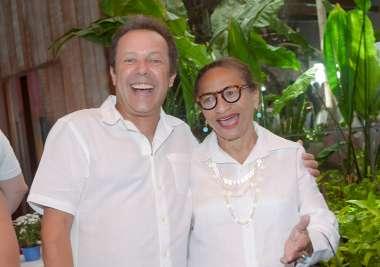Vik Muniz e Lícia Fábio em fotos de Valterio Pacheco