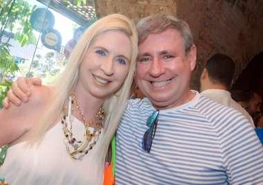 Lia e Mário Ferreira em fotos de Valterio Pacheco