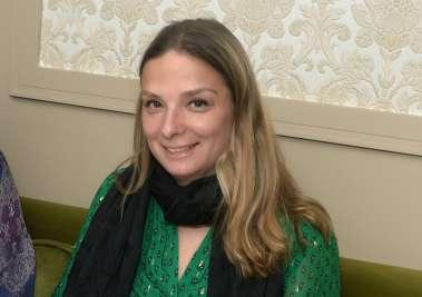 Jornalista francesa Hélène Luzin no restaurante Chez Bernanrd de Salvador em fotos de Valterio