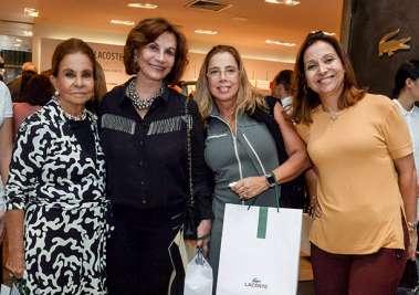 Maria Helena Mendonça, Tereza Penedo, Eliane Mendonça, Cristiana Mathias em fotos de Valteiro