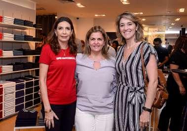 Katia Tawil, Leila Brito e Patrícia Novis em fotos de Valterio