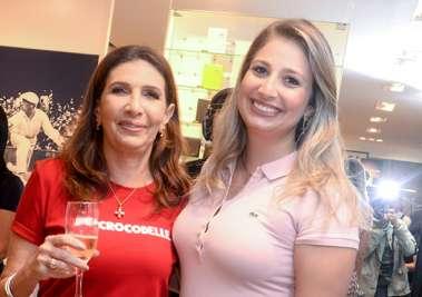 Kátia e sua filha Lara Tawil a very special family  em fotos de Valterio