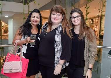 Nancy Luândia, Nanda Lebram e Andrea Ledbram em fotos de Valterio