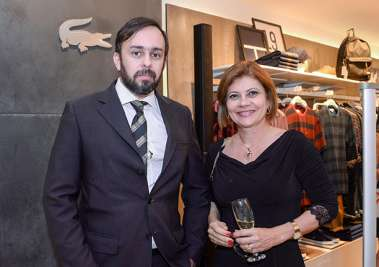 Advogados sócios Daniel Fontes e Cristhianna Carneiro em fotos de Valterio Pacheco