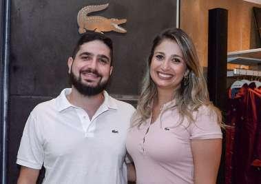 Josepph Tawil e Lara Tawil em fotos de Valterio