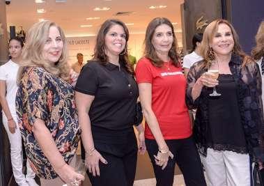 Rita Magalhães, Alexandra Isense Costa, Kátia Tawil e Cecília Garreido em fotos de Valterio