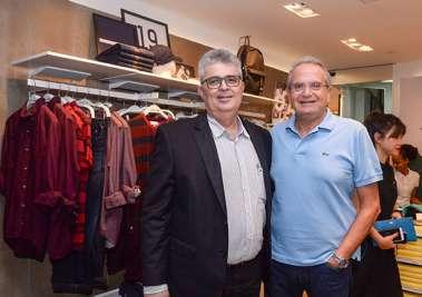 Paulo Studant presidente da Federação do Cormercio e Tony Tawil presidente da CNDL dem fotos de Valterio