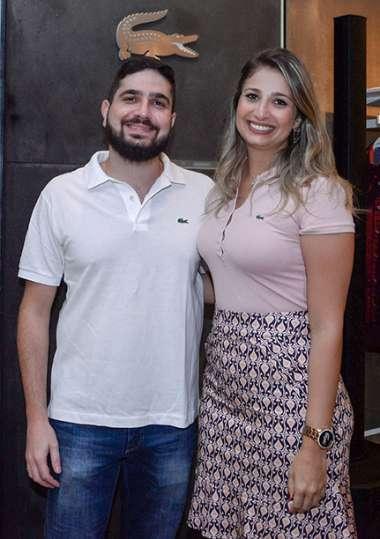 Joseph Tawil e Lara Tawil em fotos de Valteiro