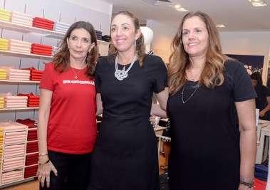 Katia Tawil, Luzia Novis e Luciana Mota em fotos de Valterio