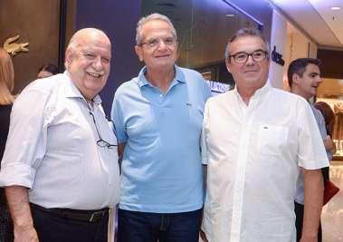 Dr. Marício Nunes very special Cardiologista, Tony Tawil e Carlos Maracajá em fotos de Valterio