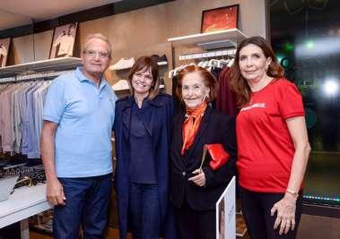 Tony Tawil, Solange Francisco July Isensee e Katia Tawil em fotos de Valterio