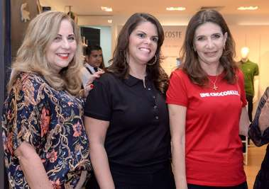 Rita Magalhães, Alexandra Isensee Costa, Kátia Tawil em fotos de Valterio