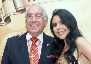 Ana Luzia Moscoso e seu pai Nelson José de Carvalho em fotos de Valterio