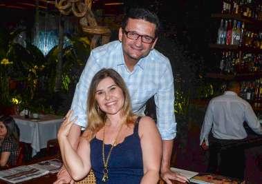 Lívia e Marcelo Nogueira Reis