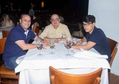 Ricardo Teixeira, Edvaldo Fahel e Ricardo Lopes