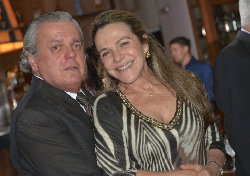 Gilka Maria e Wilson Andrade o casal destaque da semana.