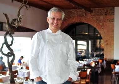 Edinho Engel chef do Amado