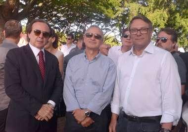 Giuseppe Belmonte, Cícero Sena e Manuel Garrido em fotos de Valterio Pacheco