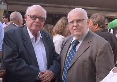 Chanceler Manuel Barros e Manuel Castro em fotos de Valterio Pacheco