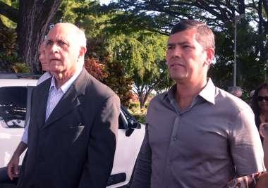Paulo Souto e Cláudio Tinoco em fotos de Valterio Pacheco