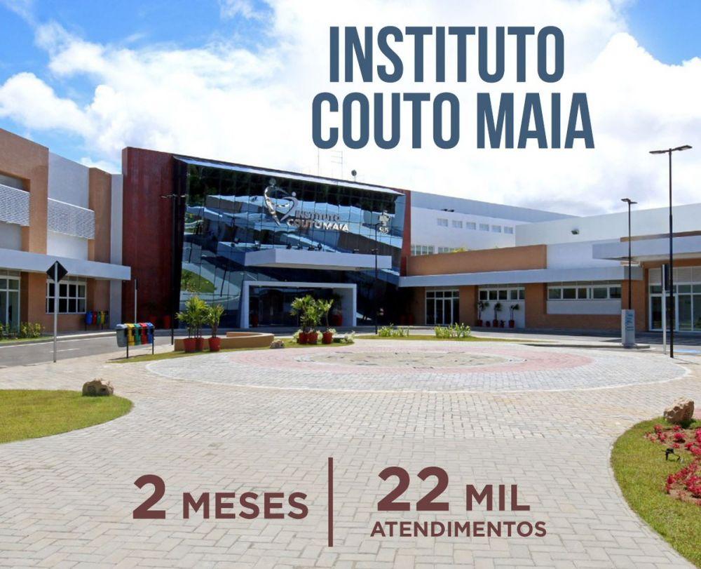 Em apenas 2 meses após inauguração o Instituto Couto Maia já realizou22 mil atendimetos.Veja...